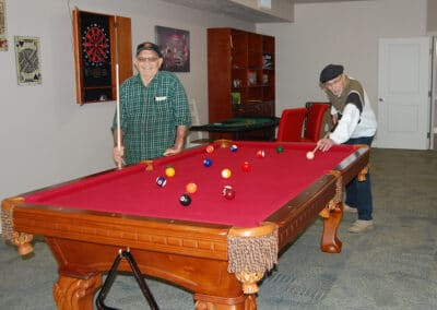 Billiards at The Haven at Sky Mountain