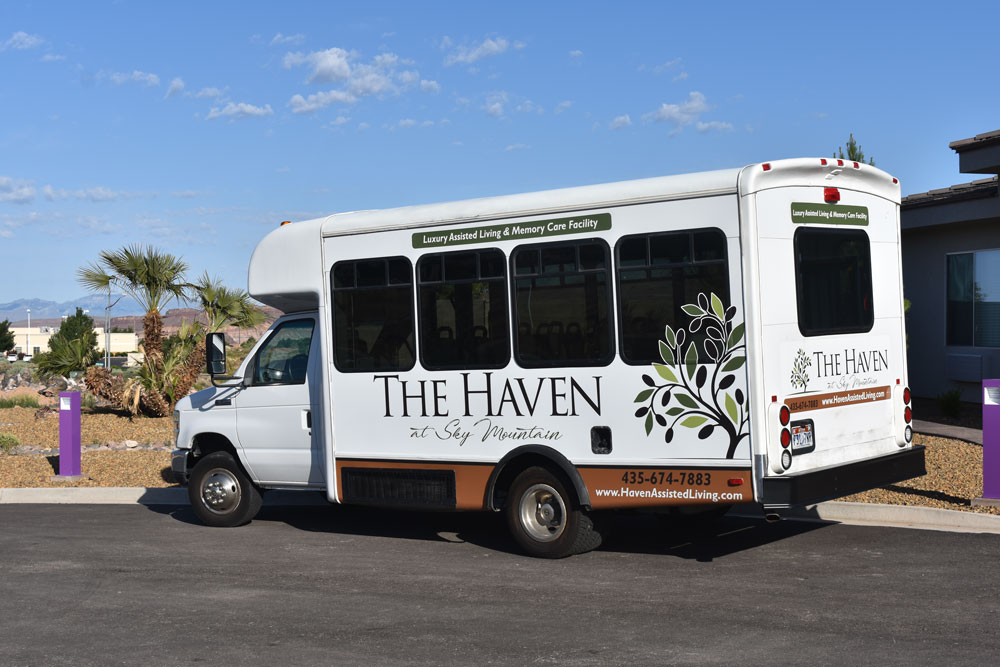 Haven Assisted Living Bus