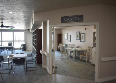 Craft Room at The Haven at Sky Mountain