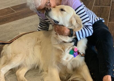 The Haven at Sky Mountain Assisted Living Pet Therapy