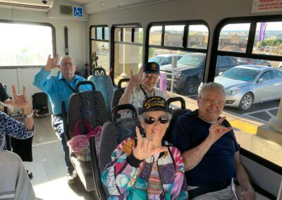 The Haven Assisted Living at Sky Mountain Outing on the bus