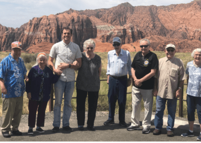 Trip to Snow Canyon with The Haven at Sky Mountain July 2019