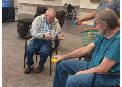 Games being played in Memory Care at The Haven
