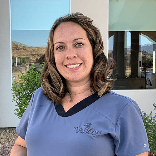 Sheila Vasilakis resident care director Haven at Sky Mountain Assisted Living